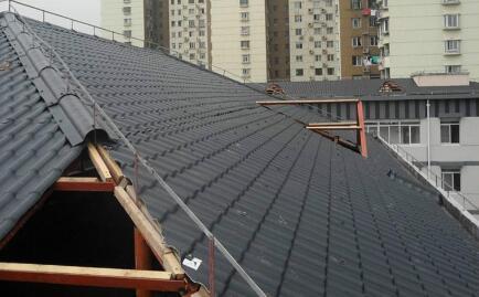 ASA合成树脂瓦 平改坡项目首推建筑材料